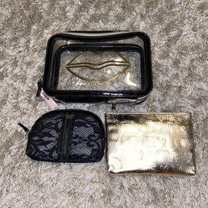 Victoria's Secret Makeup/ travel bags 3 piece